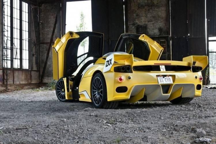 Edo Competition Ferrari ZXX, el FXX que sobrevivió a las aguas