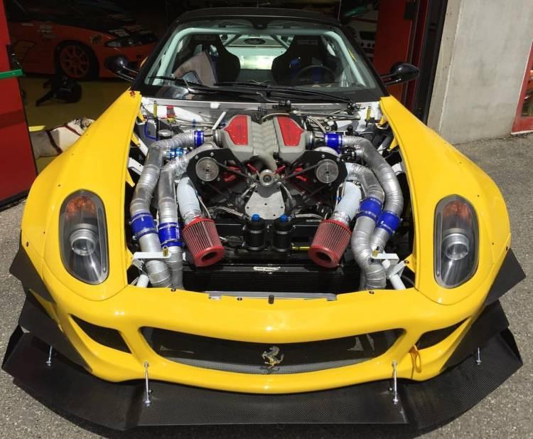 Ferrari 599 Drifting 4