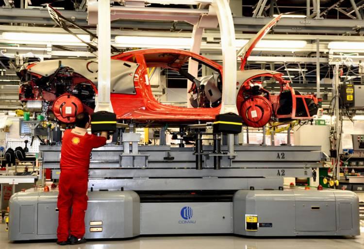 Fabricación de un Ferrari