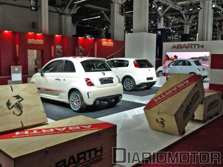 Fiat 500, 500 Esseesse y Grande Punto Abarth en el Salón de Barcelona