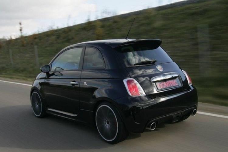 Novitec le mete 212 CV al Fiat 500 Abarth