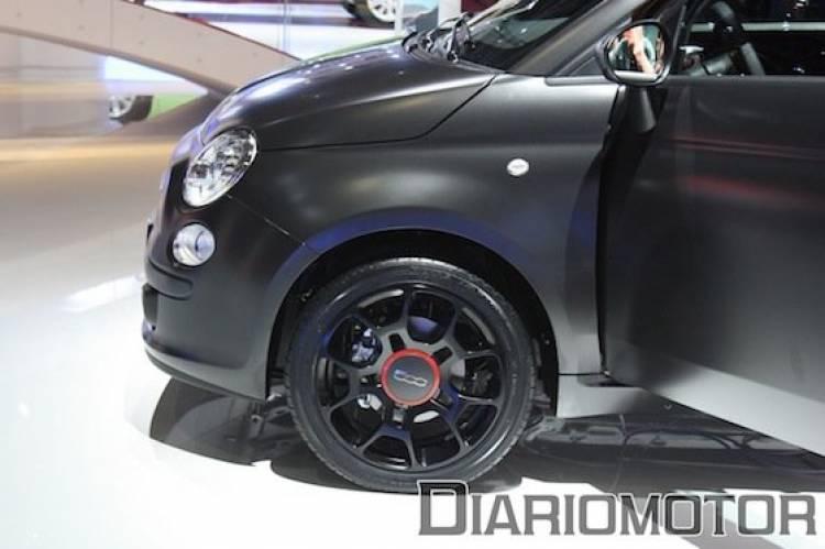 Fiat 500 BlackJack en el Salón de París