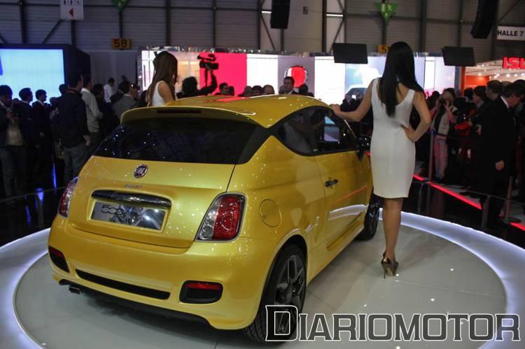 Fiat 500 Coupé Concept de Zagato en Ginebra