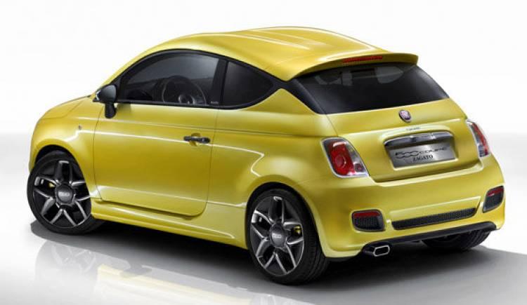 Fiat 500 Coupé Concept por Zagato