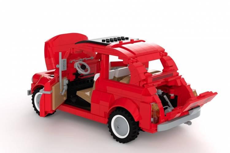 Fiat 500 Lego 4