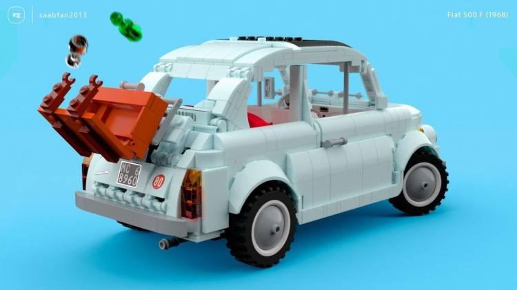 Fiat 500 Lego 6