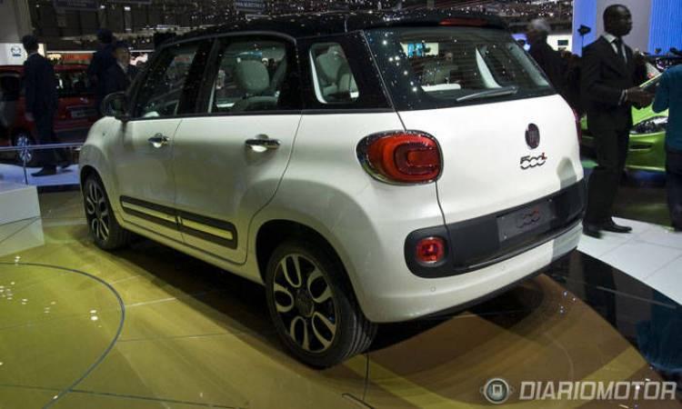 Fiat 500 L en Ginebra 2012