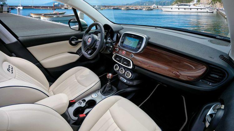 Fiat 500x Yachting 13
