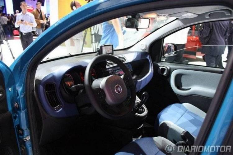 Fiat Panda 2012 en el Salón de Frankfurt