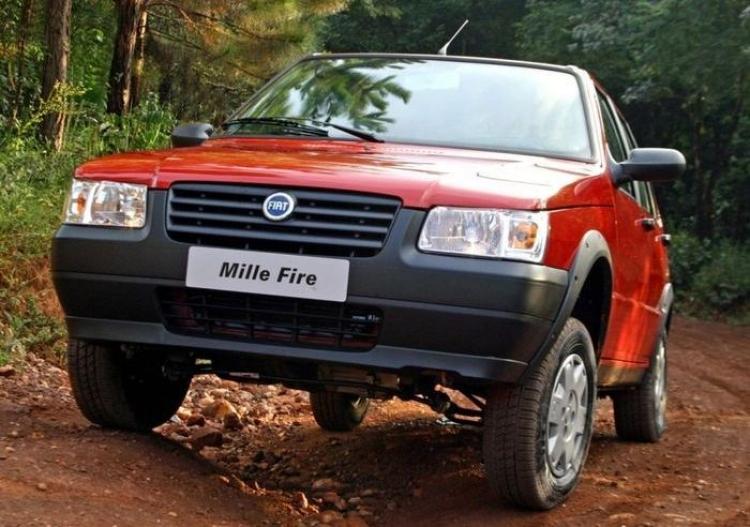 El Fiat Uno Mille termina su producción en Brasil tras casi 30 años