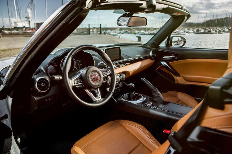 Fiat 124 Spider 22 Interior