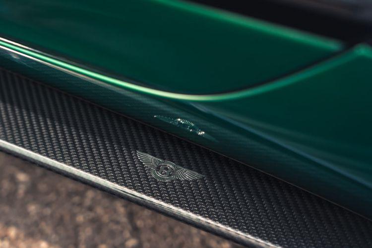 Fibra De Carbono Coche Talonera Bentley Flying Spur