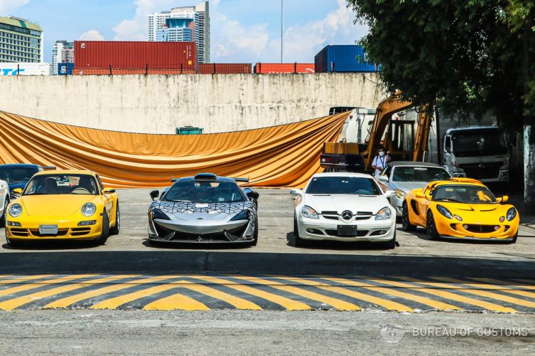Philippines Destroy 21 Luxury Cars 02