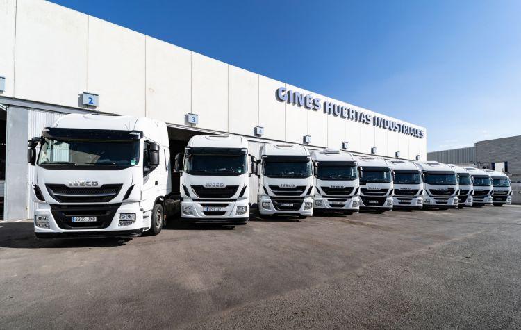 Fin Camiones Diesel 2040 Iveco Flota