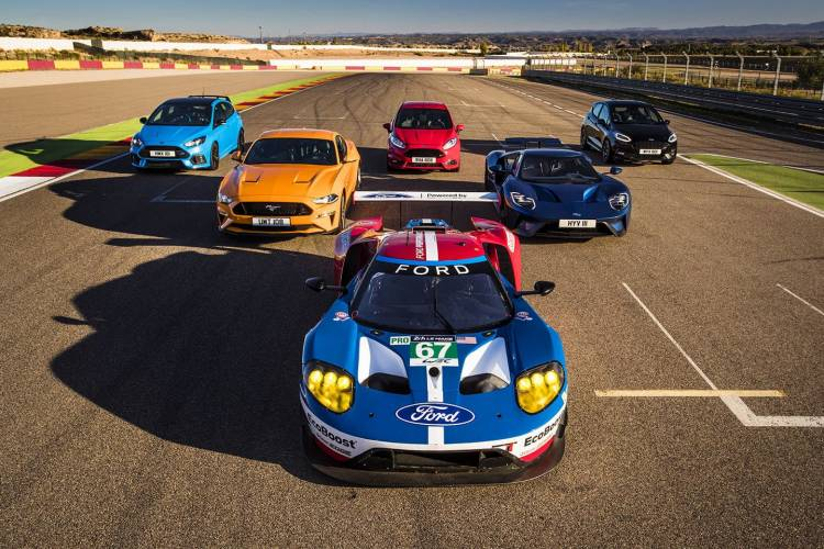 Eight Ford Performance Models + Eight Ford GT Race Drivers = One