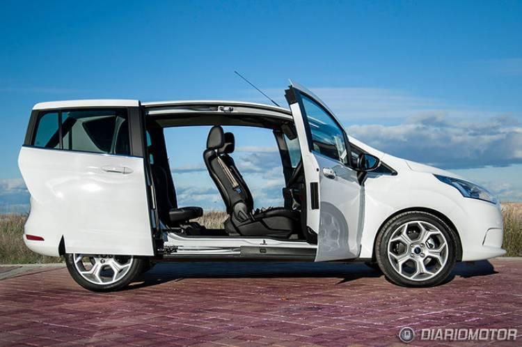 Prueba del Ford B-MAX