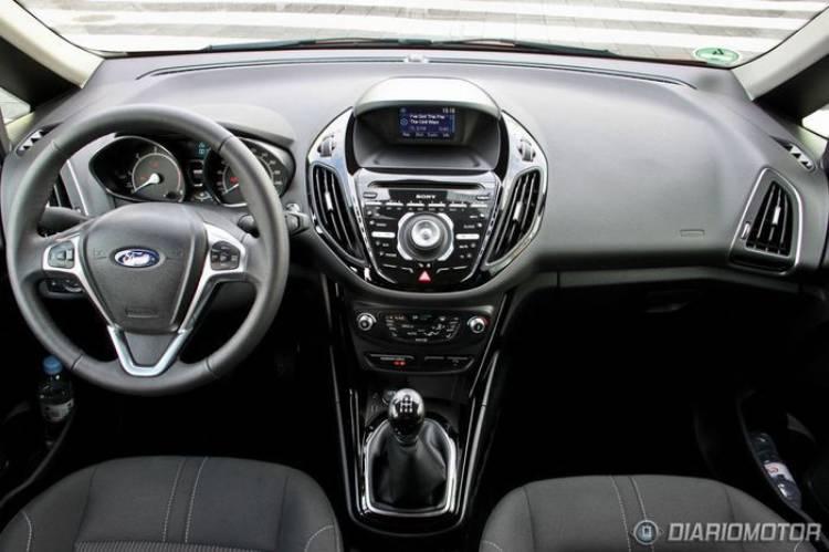 Ford B-MAX, presentación y prueba en Munich (I)