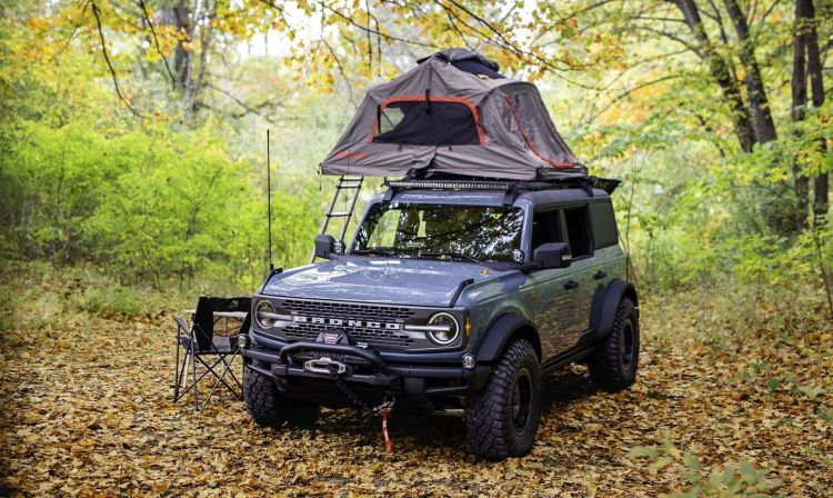 Ford Bronco Overland Camper 1020 006