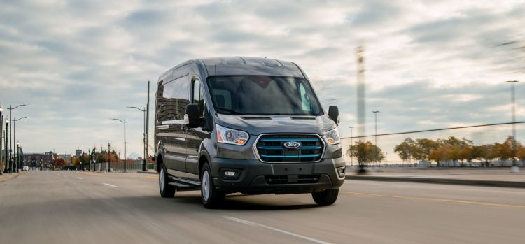 All Electric Ford E Transit