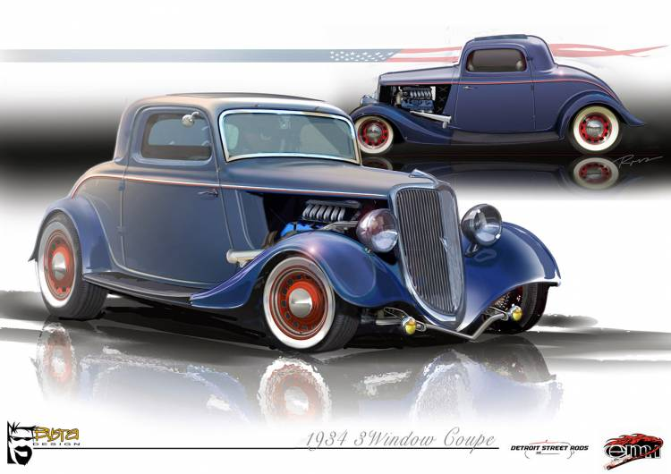 Ford Hot Rod '34
