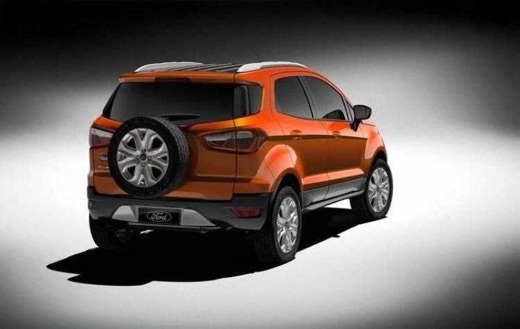 Ford EcoSport 2012, así es el Fiesta SUV que se hará global
