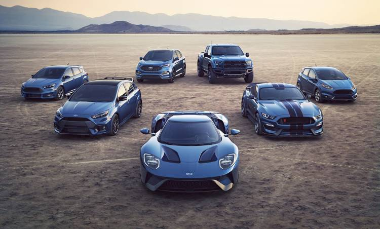 2018 Ford Performance Line-up