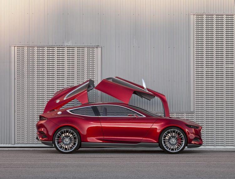 Ford Evos Concept 2011 2