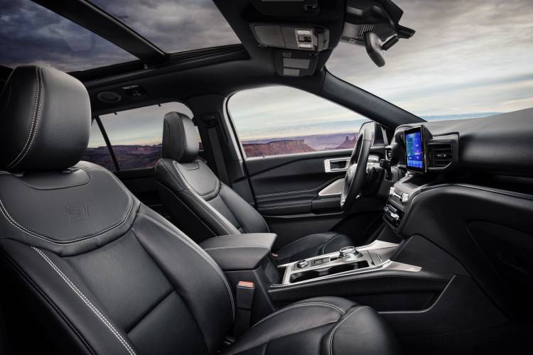 All New Explorer St Interior