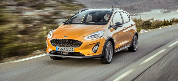 Ford Fiesta Active Coches Suv 2019
