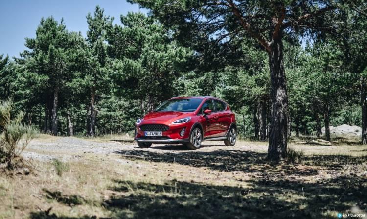 Ford Fiesta Active Prueba 6