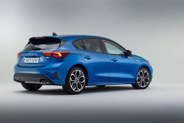 Ford Focus St Line 2022 Azul 02