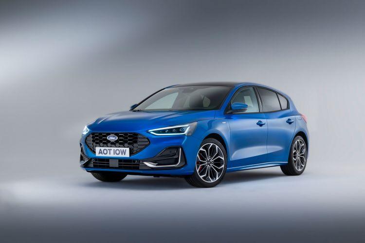 Ford Focus St Line 2022 Azul 03