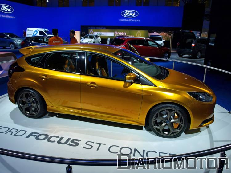 Ford Focus ST 2012 en el Salón de Barcelona