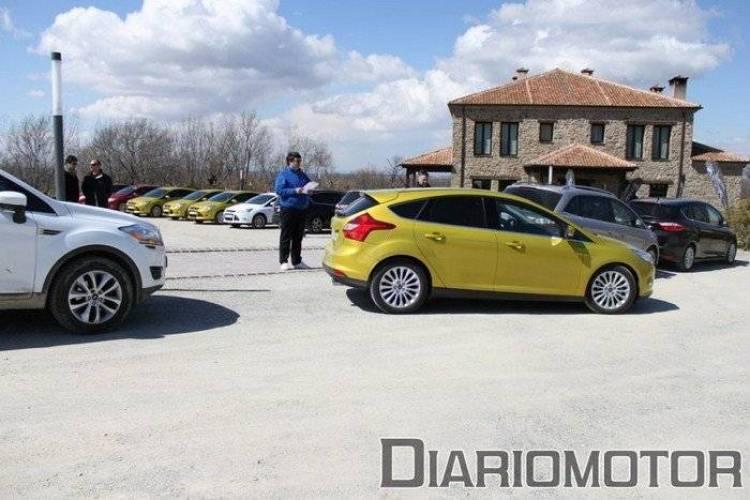 Aparcando con el Active Park Assist del Ford focus