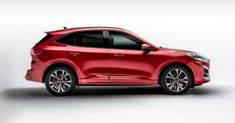 Ford Kuga 2019 Rojo Exterior 02