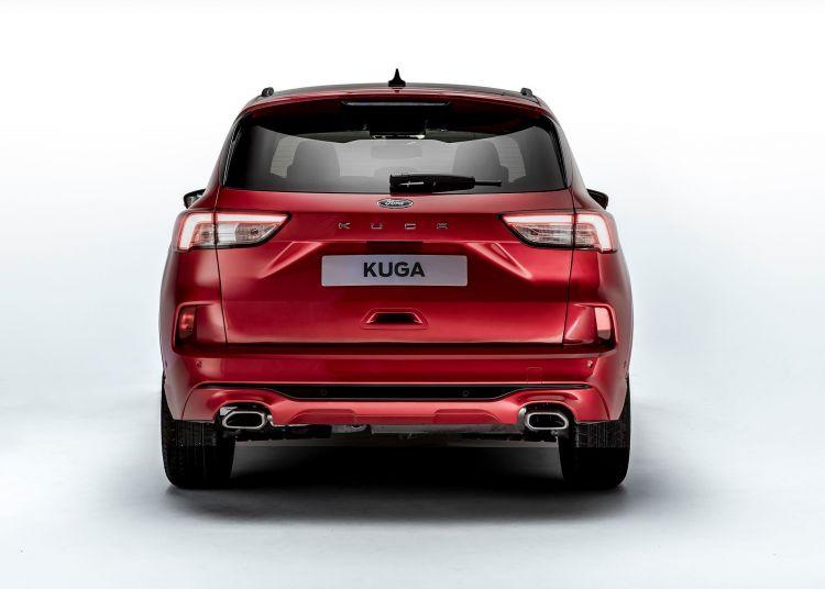 Ford Kuga 2019 Rojo Exterior 03