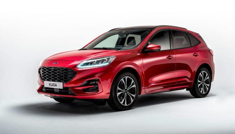Ford Kuga 2019 Rojo Exterior 04
