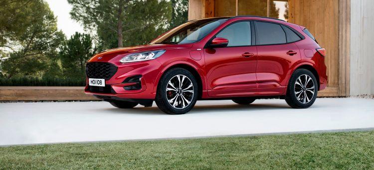 Ford Kuga Rojo St Line 2019 Portada