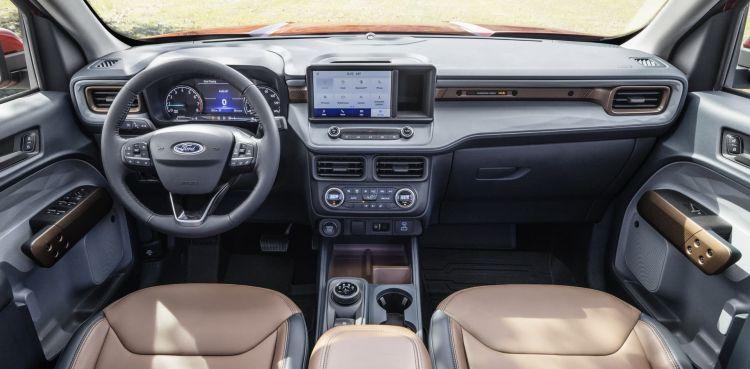 Ford Maverick 2022 1 Interior