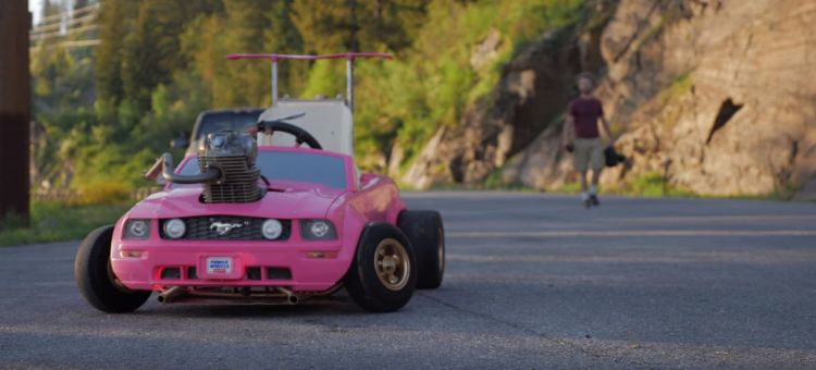 Ford Mustang Barbie
