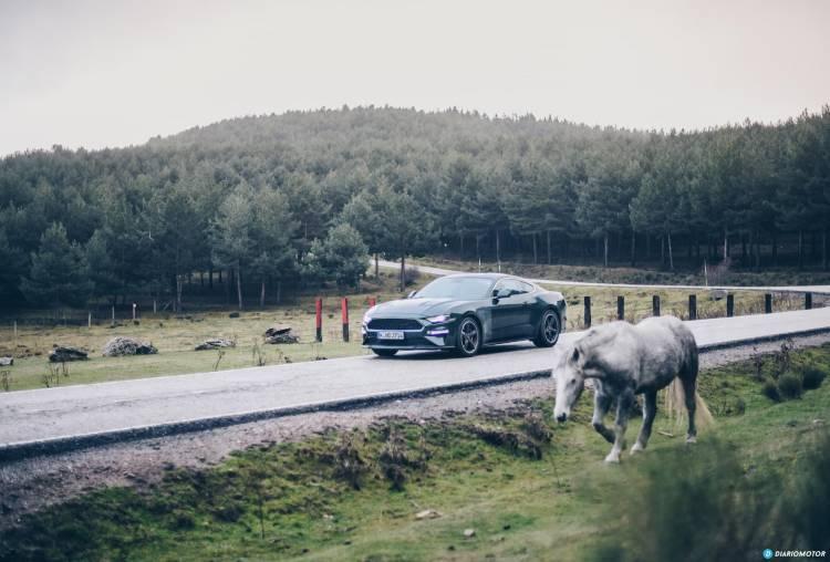 Ford Mustang Bullit Prueba Ford Mustang 14