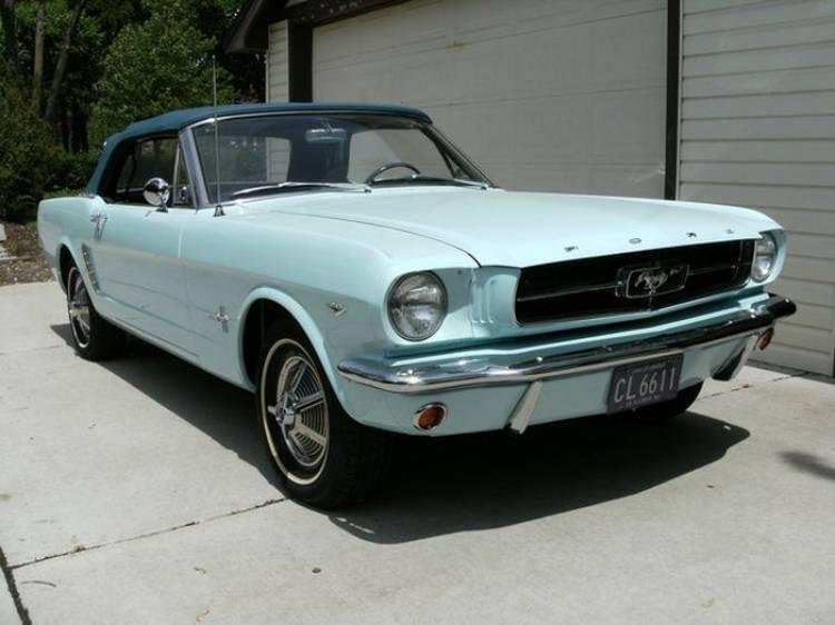 Así es como el primer Ford Mustang volvió a la vida