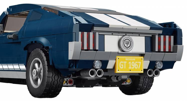 Ford Mustang Lego 0219 002