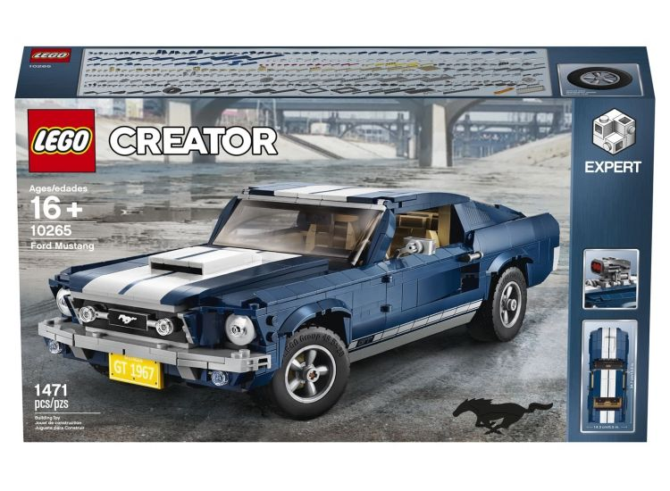 Ford Mustang Lego 0219 003
