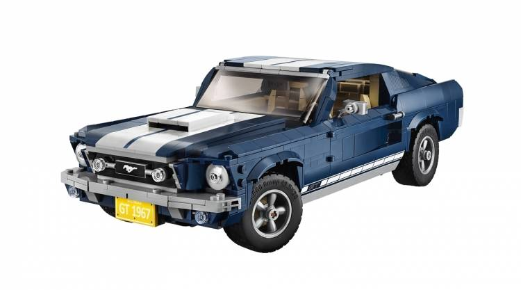 Ford Mustang Lego 0219 004