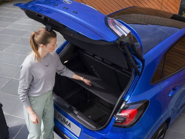 Ford Puma 2019 Maletero 01