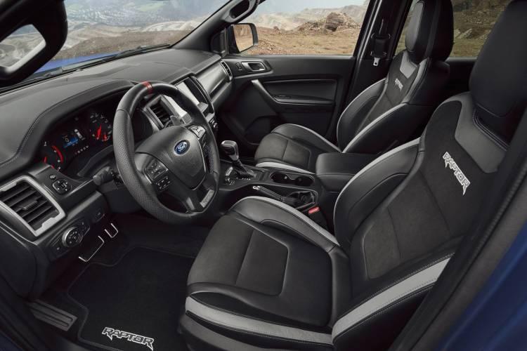 Ford Ranger 2019 Raptor Interior 4
