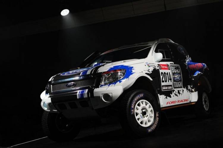 Ford Racing participará en el Dakar 2014 con dos Ranger explosivas