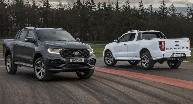 Ford Ranger Ms Rt Double Cab / Super Cab 2021