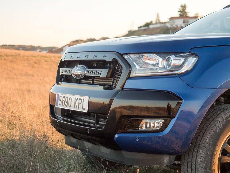 Ford Ranger Wildtrak Frontal 00007
